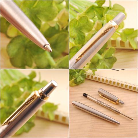 Набор с гравировкой: Ежедневник с Шариковой ручкой Parker Jotter, цвет: St. Steel GT123
