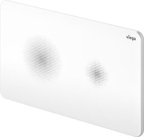 Бесконтактная кнопка смыва белая Viega Visign for Style 25
