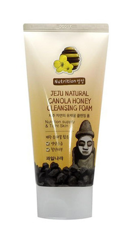 Пенка Jeju Natural Canola Honey Cleansing Foam от Welcos