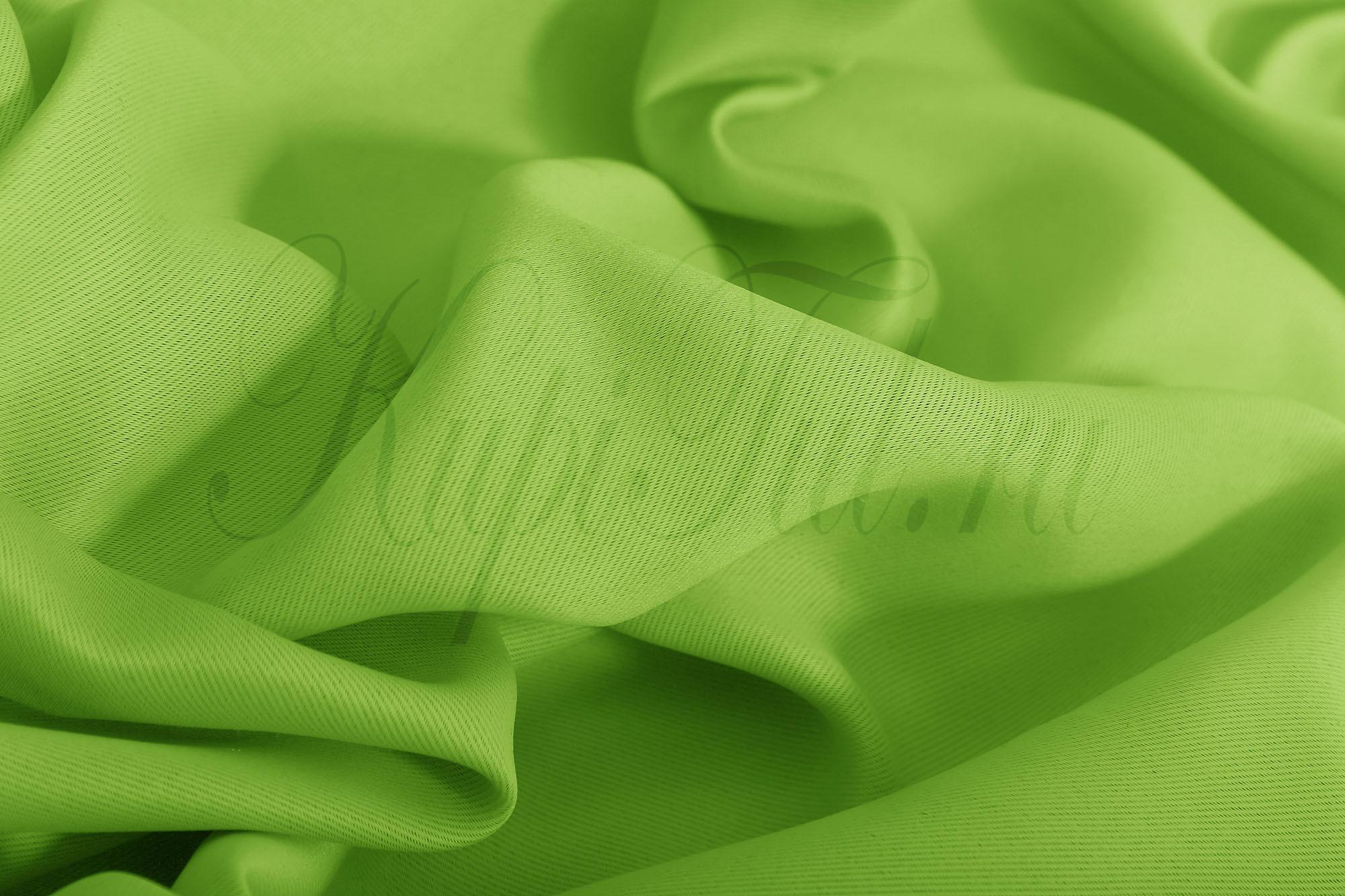Classic Blackout (Green). Шторы из однотонного матового блэкаута.