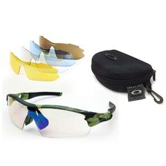 Тактические очки OAKLEY (5 сменных линз) Оправа камуфляж
