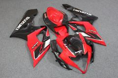 Комплект пластика для мотоцикла Suzuki GSX-R1000 05-06 Красно-Черный