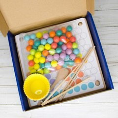 Мозаика детская с шариками