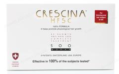 Комплекс - Лосьон для стимуляции роста волос для женщин №10 + Лосьон против выпадения волос №10, 500  (Labo | Crescina Re-Growth HFSC 100% + Crescina Anti-Hair Loss HSSC 500), 10 х 3,5 мл + 10 х 3,5 мл