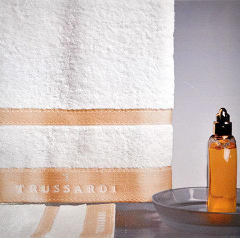 Набор полотенец 2 шт Trussardi Golf белый
