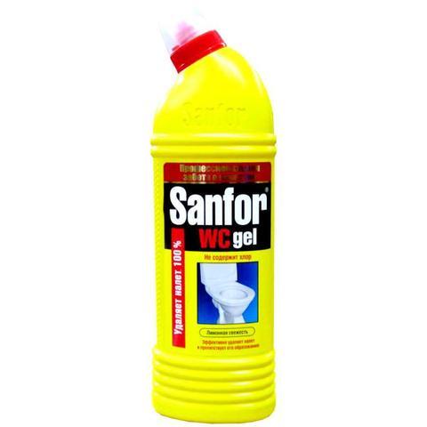 Чистящее средство САНФОР WC гель 1000мл  д/туалета (в ассортименте)