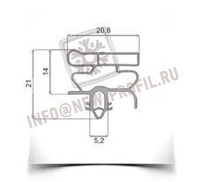 Уплотнитель 68*57 см для холодильника  Electrolux ERB8648 (морозильная камера) Профиль 010