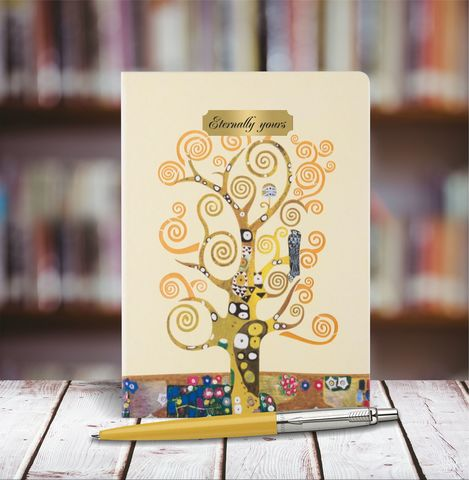 Набор с гравировкой: Ежедневник недатированный и Шариковая ручка Parker Jotter 125th Yellow
