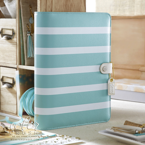 Планер A5 TEAL STRIPE PLANNER KIT by Websters Pages (коллекция 2016!)