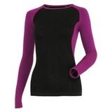 Термобелье женское кофта Guahoo G22-9481S black-violet