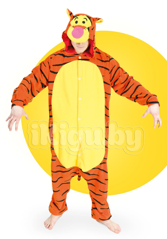 Пижамы кигуруми Тигра Дисней (флис) тигра-2_новый.jpg