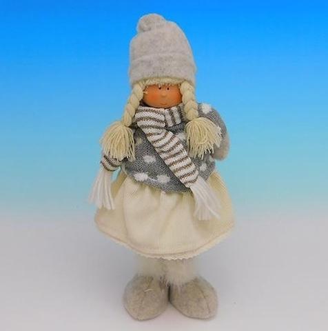 Девочка в зимней одежде ZC-40525