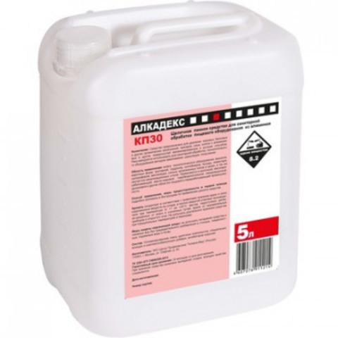 Профессиональная химия Алкадекс КП 30, 5л,концентрат д/чистки пищевогооб-я