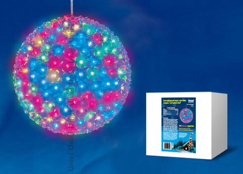 ULD-H2727-300/DTA RGB IP20 SAKURA BALL Фигура светодиодная «Шар с цветами сакуры», 300 светодиодов, диаметр 27 см, цвет свечения-RGB, IP20