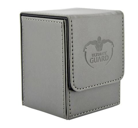 Ultimate Guard - Серая кожаная коробочка на 100+ карт для Коммандера