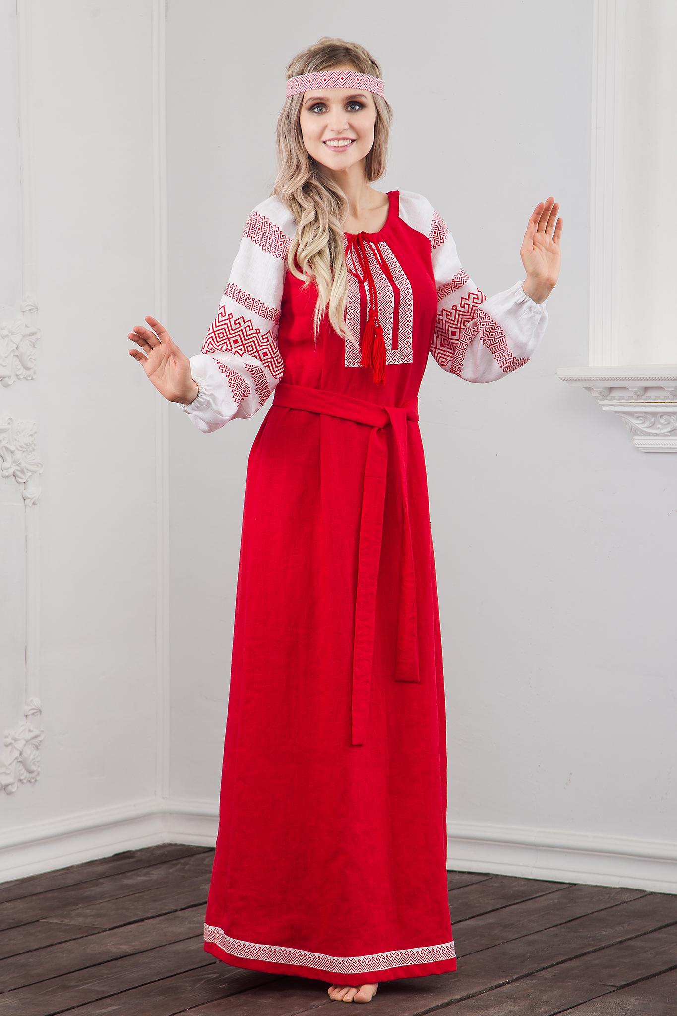 Фото русского-народного платья от Иванки