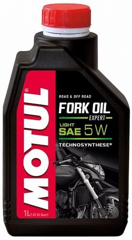 Вилочное масло Motul Fork Oil Expert Light 5W 1L