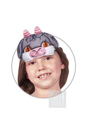 Фото Головной убор - маска Козлик с Хохломской росписью рисунок Маски для детского сада: для театрализованных и подвижных игр. Эти уникальные  маски ободки станут незаменимым, а подчас - и единственным элементом костюма!