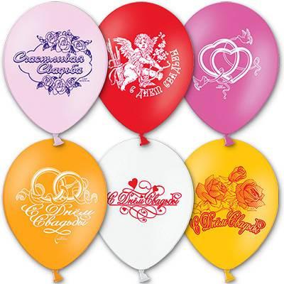 Воздушные шары Свадьба
