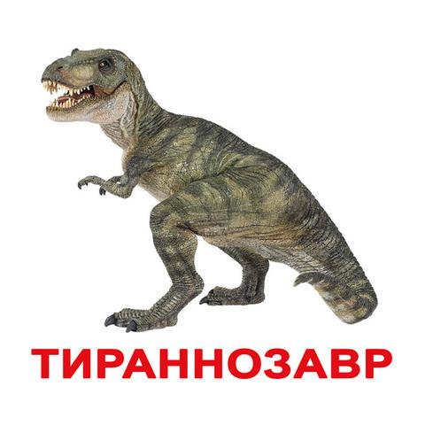 карточки бол Динозавры от 6 мес.