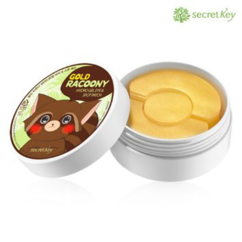 Gold Racoony Hydrogel Eye & Spot Patch