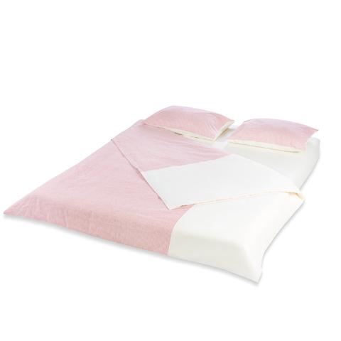 Комплект конопляного постельного белья Breeze Rosso 2 спальный