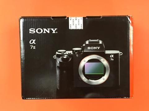 Sony Alpha ILCE-7 II гарантия 20 месяцев