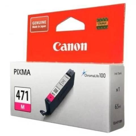Картридж Canon CLI-471 M пурпурный