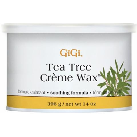 GiGi, The Tree Creme Wax - Кремообразный воск с маслом чайного дерева 396г.