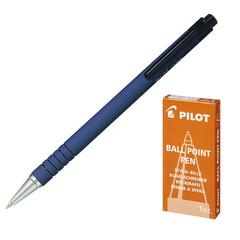 Ручка шариковая PILOT BPRK-10M автомат синий 0.32мм Япония