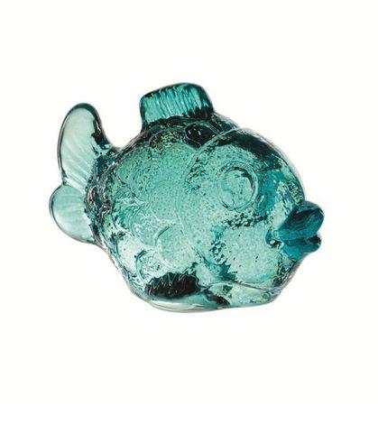 Фигурка хрустальная Nachtmann Zoo Рыбка бирюзовая