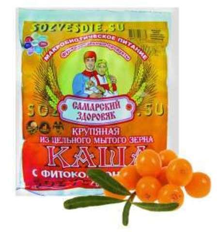 Каша Самарский Здоровяк №81 Облепиховая
