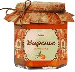 Варенье, Сибирский Кедр, из облепихи, 200 г.