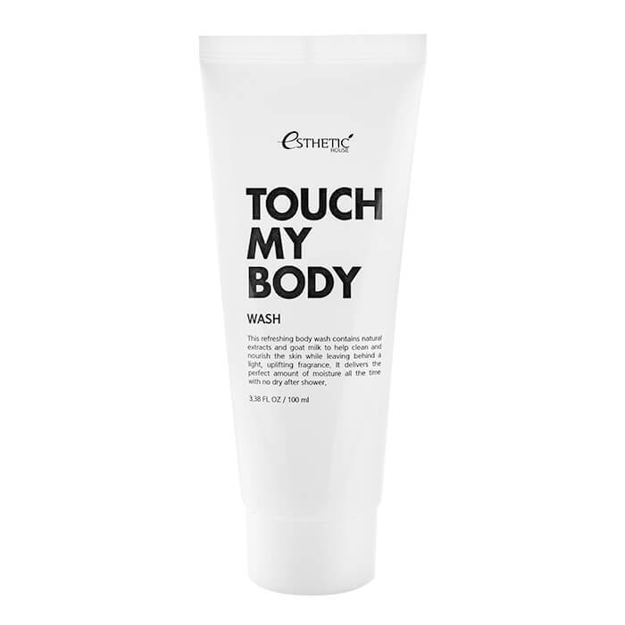 Гель для душа Esthetic House Touch My Body Goat Milk Body Wash
