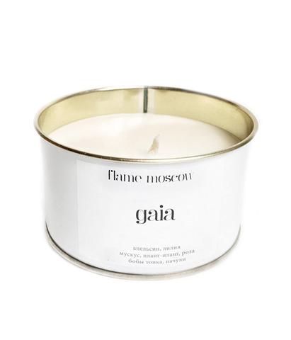 Свеча ароматическая в металле Gaia, Flame