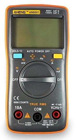 Мультиметр Aneng AN8001