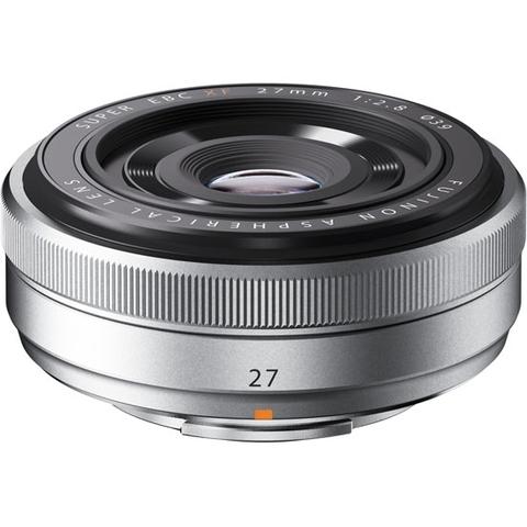 Fujifilm Fujinon XF 27mm f/2.8 Silver
