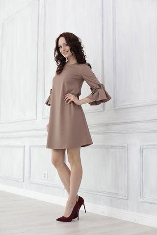 Платье 08829 капучино