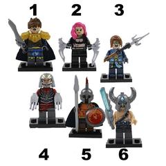 Minifigures Superhuman League of Legend Blocks Building