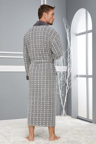 Классический легкий мужской халат 18690 Nusa Турция