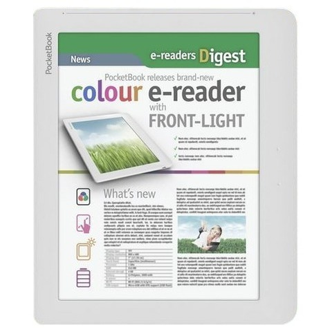 e-reader PocketBook 801 Color Lux  белый