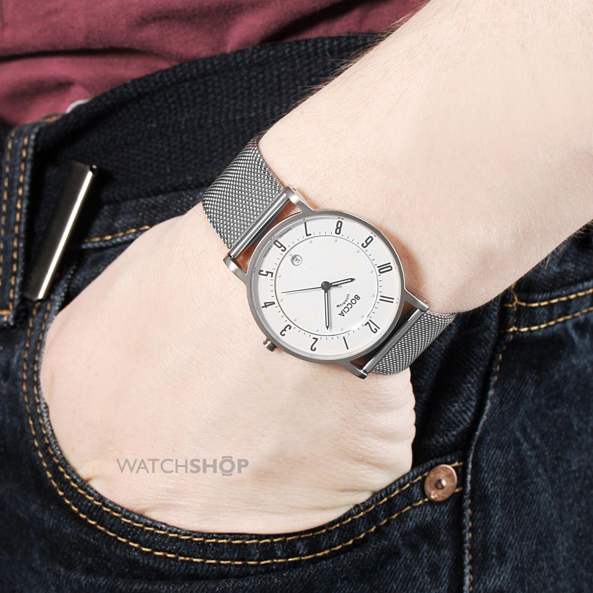 Наручные часы Boccia Titanium Боча Титаниум - купить по