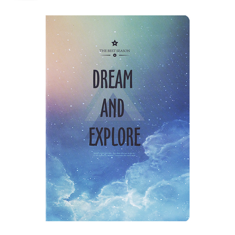 Тетрадь Dream and Explore 48 листов Облака