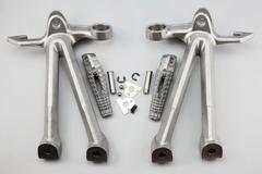 Подножки задние с кронштейнами для мотоцикла Suzuki GSX-R1000 09-16