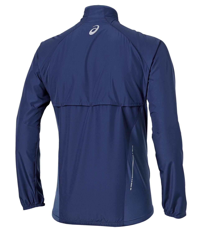 Мужская ветровка для бега Asics Woven Jacket (110411 8133) синяя фото