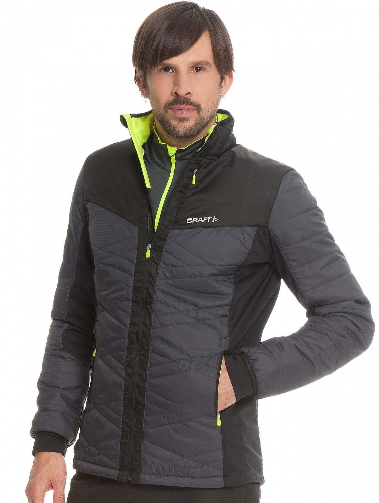 Мужская лыжная куртка Craft Insulation XC 1903577-2995
