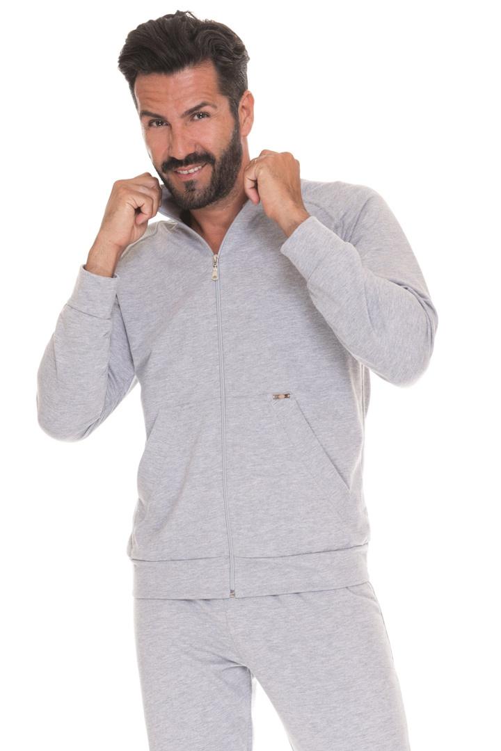 Мужской спортивный костюм из хлопка B&B (Домашние костюмы и пижамы)