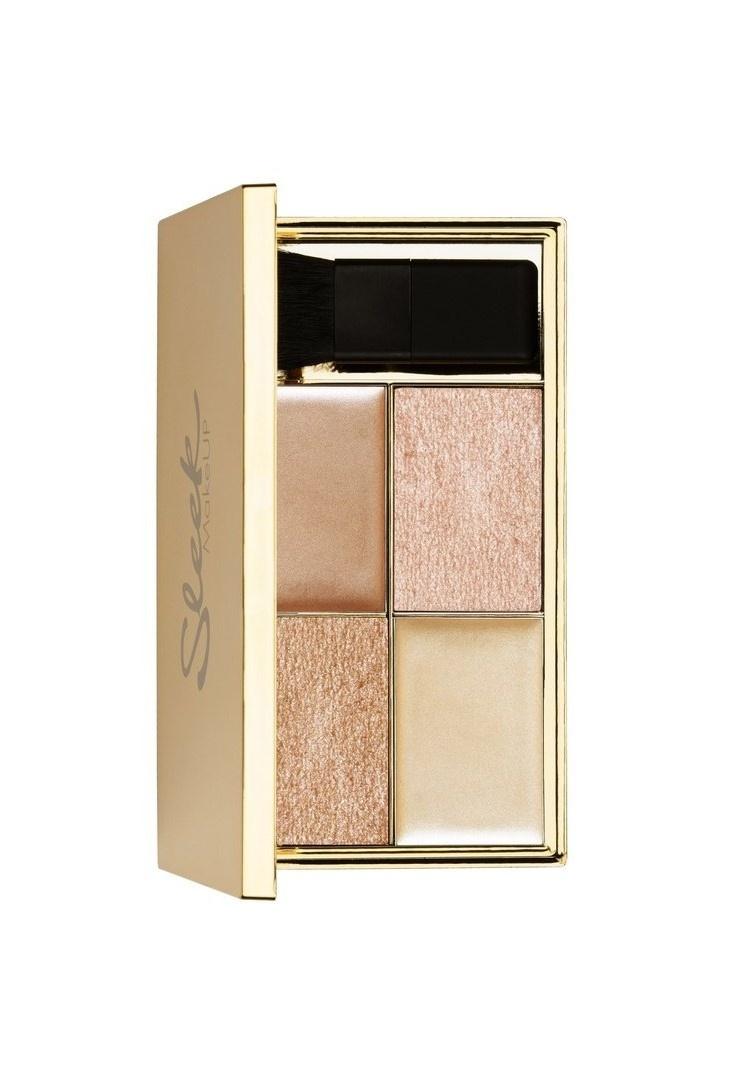 Купить со скидкой Палетка хайлайтеров Sleek MakeUP Highlighting palette Cleopatra's Kiss 033 (Хайлайтер)
