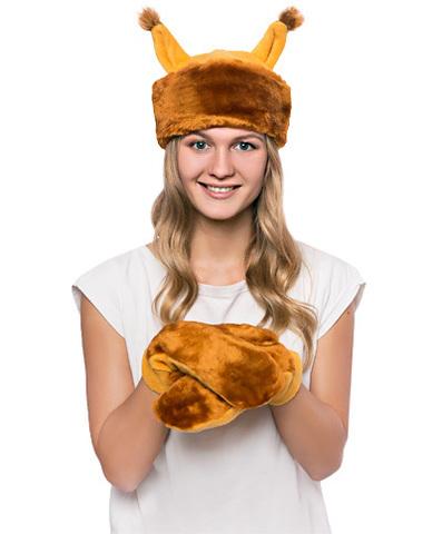 Карнавальный  костюм Белка мини