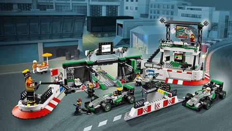 Конструктор BELA Speeds Champion Формула -1 Мерседес AMG Petronas 10782